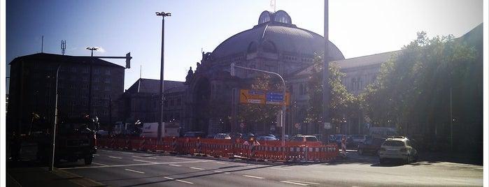 Nürnberg Hauptbahnhof is one of Nürnberg, Deutschland (Nuremberg, Germany).