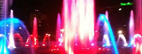 Friendship Fountain is one of JAX , FL.
