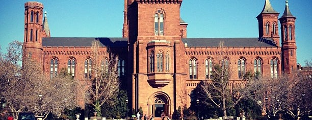 Smithsonian Institution Building (The Castle) is one of things done with the family and doug.