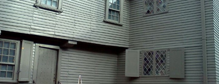 Paul Revere House is one of Hub History.