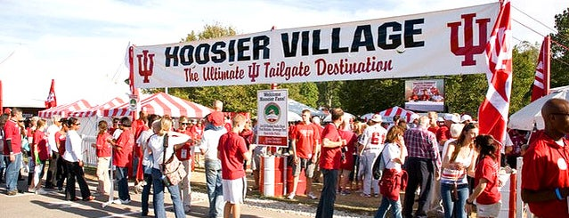 Hoosier Village is one of Homecoming 2011.