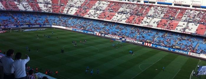 Estadio Vicente Calderón is one of Best Stadiums.
