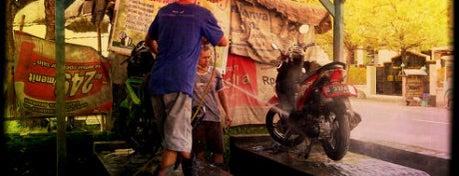 Cuci Motor Mulia is one of Pekalongan World of Batik.