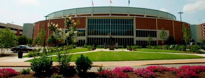 E.A. Diddle Arena is one of Campus Tour.