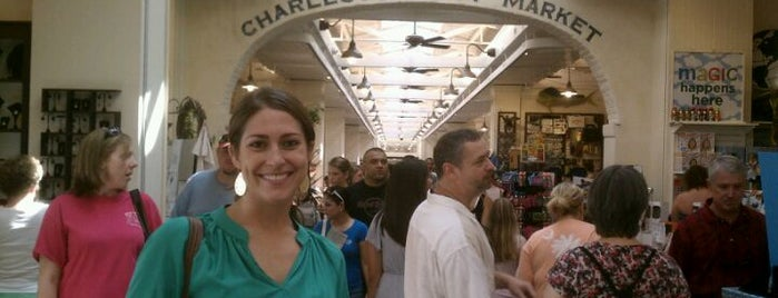 Charleston City Market is one of Charleston's Top Social Spots.