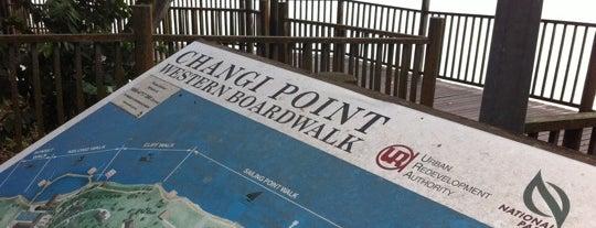 Changi Point Western Boardwalk (Kelong Walk) is one of Trek Across Singapore.