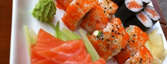 Hangi Sushi is one of Thai Vietnamesich und Japanisch.