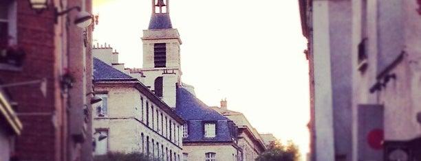 Le Marais is one of Paris.