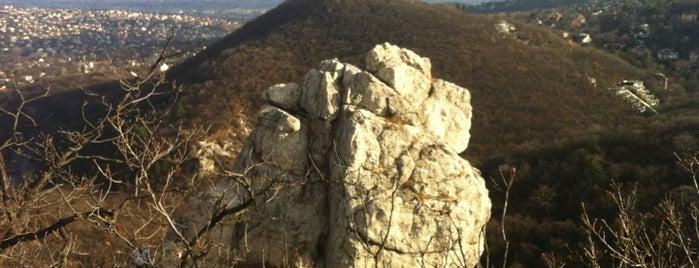 Tündér-szikla is one of Budai hegység/Pilis.