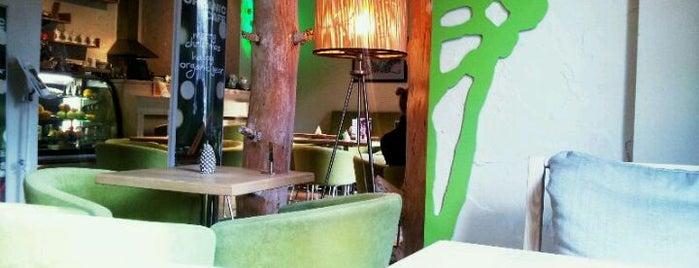 Glossary Organic Café is one of Cafe Kyiv (Kiev, Ukraine).