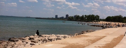 57th Street Beach is one of Chi-city Chillin'.