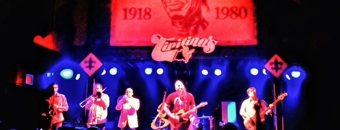 Tipitina's is one of Nola Must-Do.