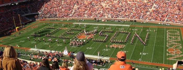 Frank Howard Field at Clemson Memorial Stadium is one of Great Sport Locations Across United States.