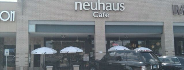 Neuhaus Cafe is one of FOOD in Dallas-Ft Worth Metroplex.
