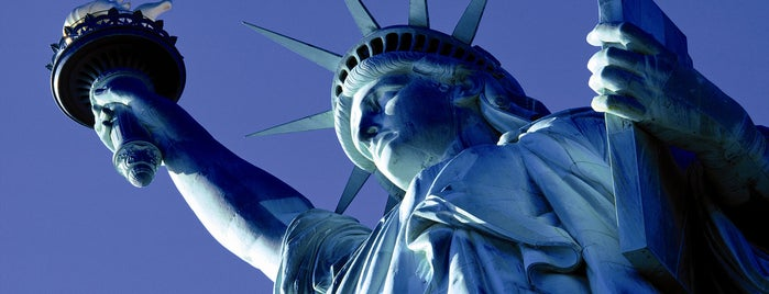 Statue de la Liberté is one of New York for the 1st time !.