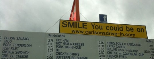 Carlson's Drive-in is one of Must-visit Food in Michigan City.