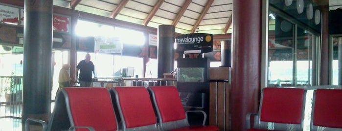 Gate F1 is one of Soekarno Hatta International Airport (CGK).