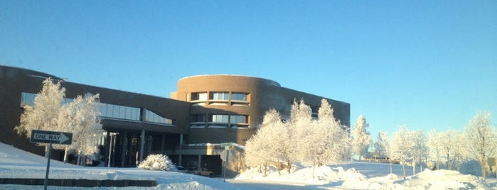 Z. J. Loussac Public Library is one of Anchorage, AK.
