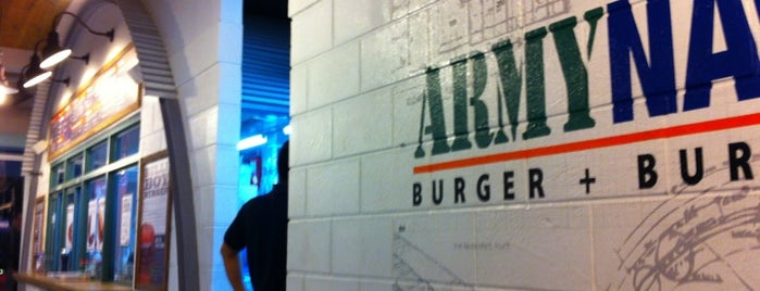 Army Navy Burger + Burrito is one of Top 10 dinner spots in Baguio City, Philippines.