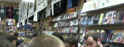 Travelling Man Comics & Games is one of Geekery in Leeds.