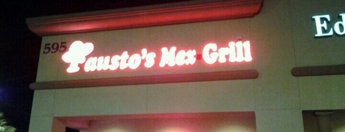 Fausto's Mexican Grill is one of The 15 Best Inexpensive Places in Henderson.