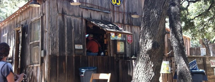 Luckenbach Texas and Dance Hall is one of Texas Trip.