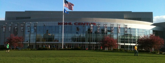 The Kohl Center is one of Favorite places in Madison, WI.