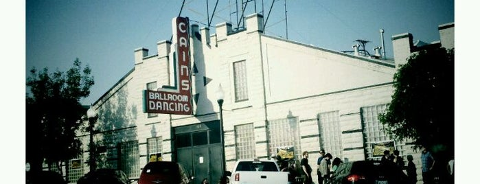 Cain's Ballroom is one of Livin' on Tulsa Time.