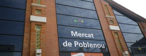 Mercat de Poblenou is one of bcn.