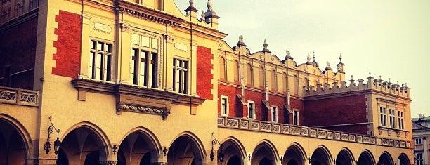 Sukiennice is one of Kraków.
