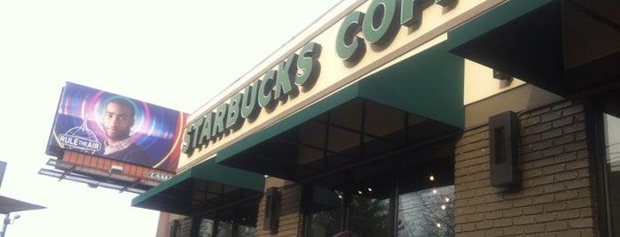 Starbucks is one of Nashville.