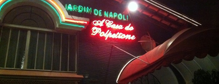 Jardim de Napoli is one of SP: Restaurantes.