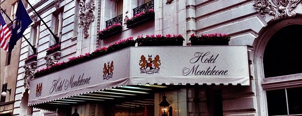 Hotel Monteleone is one of New Orleans, LA.