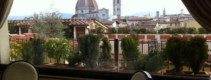 Grand Hotel Baglioni is one of Under the Florence Sun - #4sqcities.