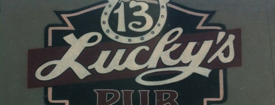 Lucky's 13 Pub is one of Guide to Bloomington's best spots.