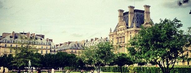 Tuileries Garden is one of Paris.