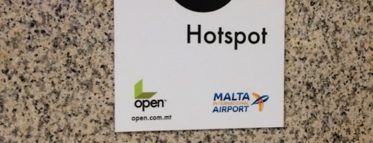 Aeroporto Internacional de Malta (MLA) is one of Free WiFi Airports.