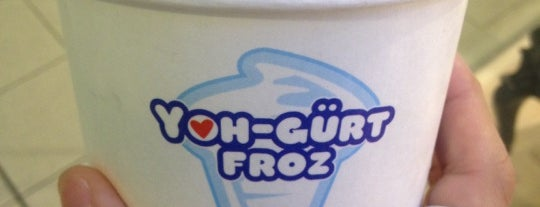 Yoh Froz is one of Uber Yogurt.
