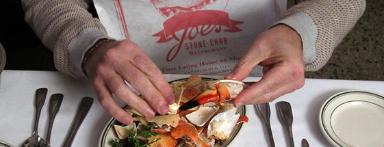 Joe's Stone Crab is one of Man v Food Nation.