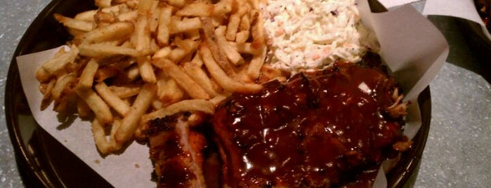 Phil's BBQ is one of favorite food.