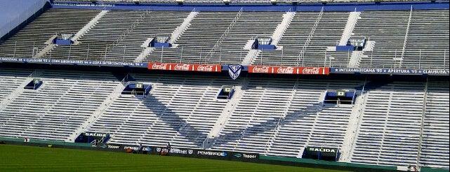 Estadio José Amalfitani (Club Atlético Vélez Sarsfield) is one of En la Ciudad.