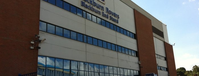 Ewood Park is one of Football grounds visited.