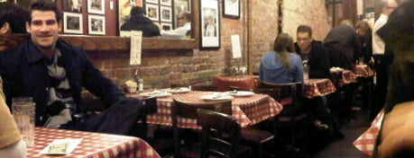 Lombardi's Coal Oven Pizza is one of NY Region Old-Timey Bars, Cafes, and Restaurants.