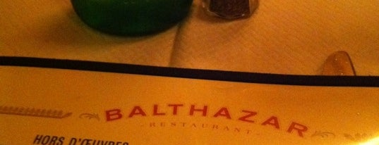 Balthazar is one of Dessert Stops.