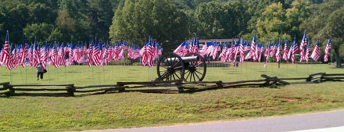Kennesaw Mountain National Battlefield Park is one of The 4sqLoveStory.