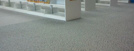 Grand Prairie Memorial Library is one of favs.