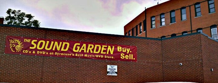 The Sound Garden is one of The Best of Syracuse #visitUS.