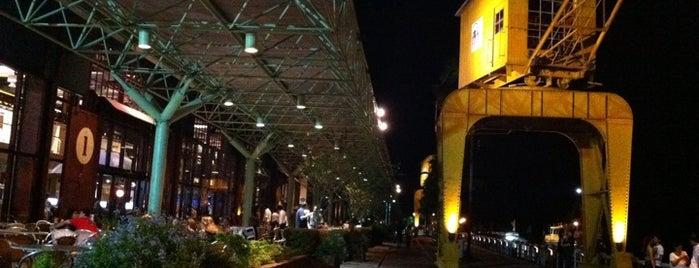 Estação das Docas is one of let´s go.