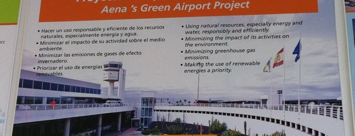 Lanzarote Airport (ACE) is one of Airports in SPAIN.