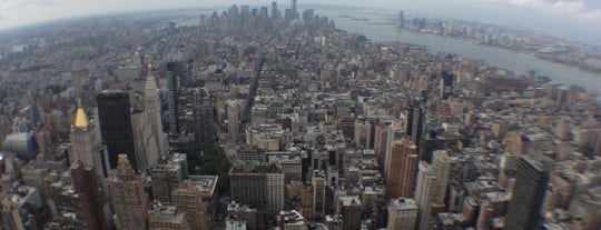Empire State Building 86th Floor Observation Deck is one of Living New York.